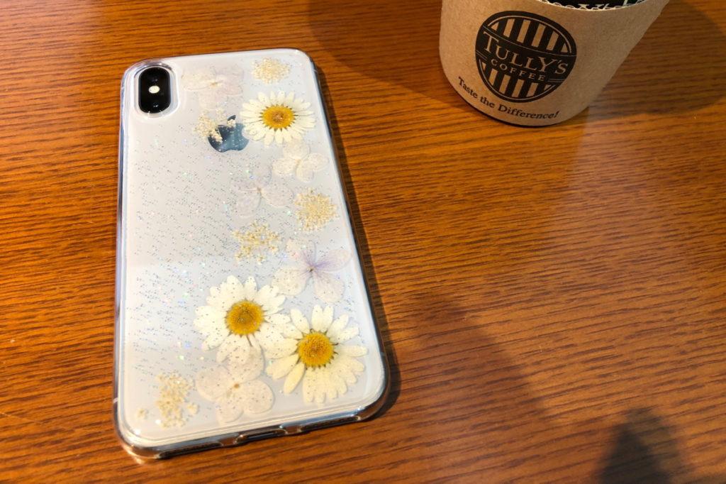 マーガレットのiPhone Xのケース