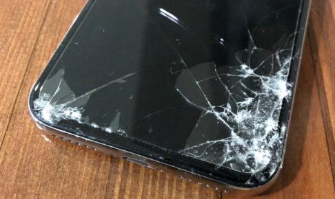 iPhone X 犬に噛まれる