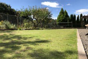 (After)リョービ電動芝刈り機LM-2810による芝刈り後 東側から撮影