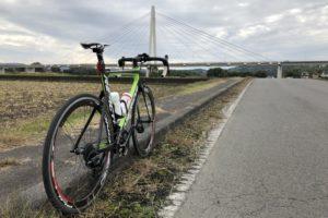烏山大橋とMERIDA REACTO 4000
