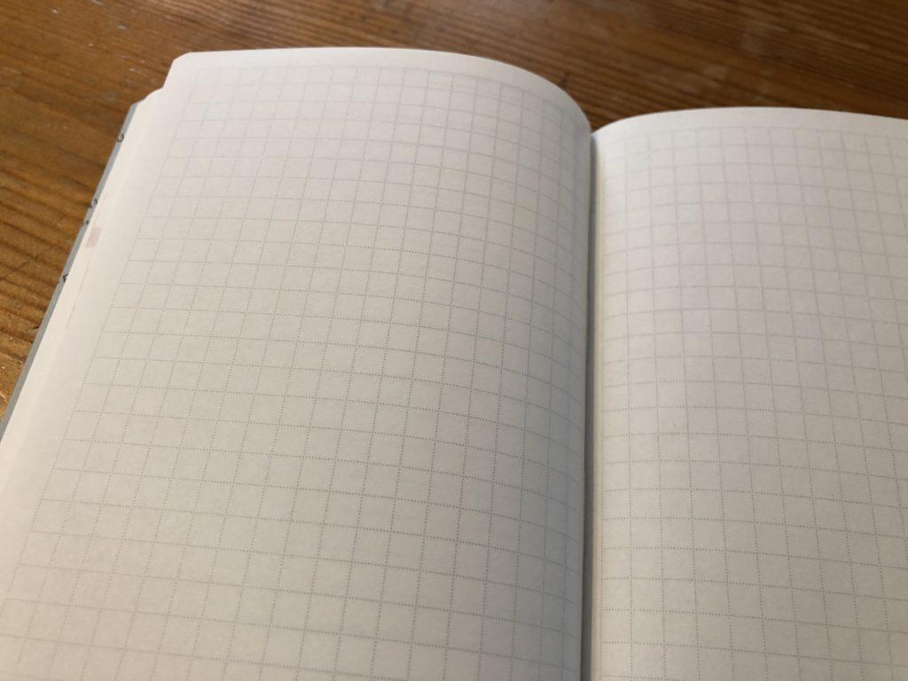 クラシ手帳2019の方眼メモページ